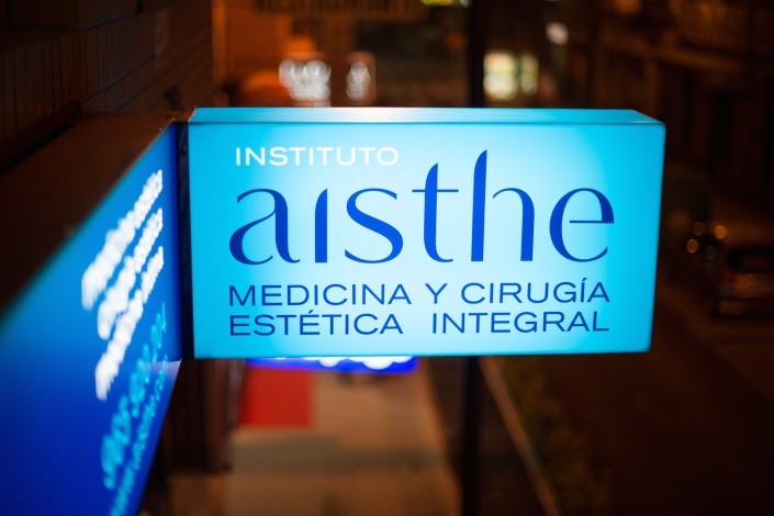 Rótulo luminoso Aisthe Alicante