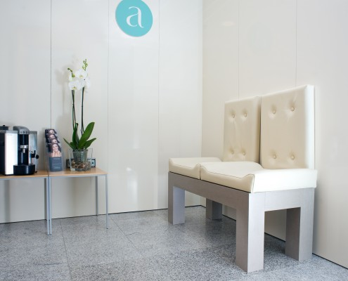 Sala de espera 2 Aisthe Alicante